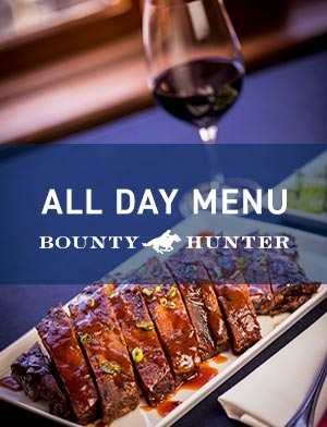 Bounty Hunter Walnut Creek Menu
