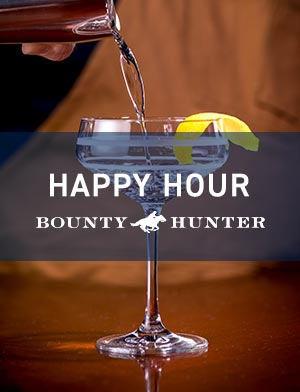 Bounty Hunter Walnut Creek Happy Hour