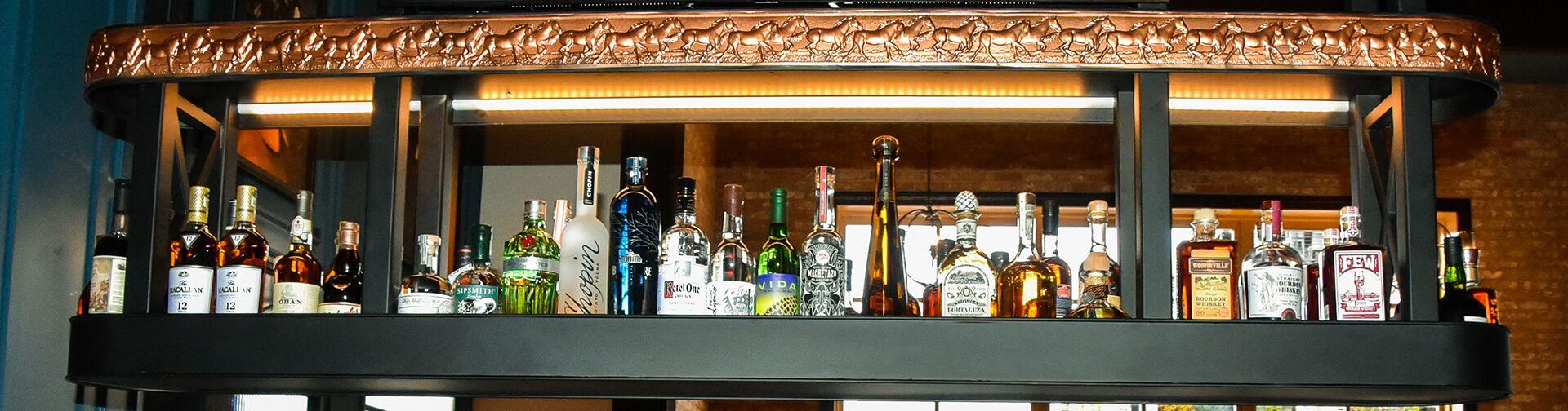 Bounty Hunter Walnut Creek Top Shelf Bar